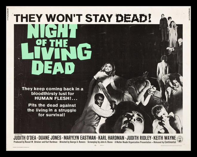Poster phim Night of the living dead.