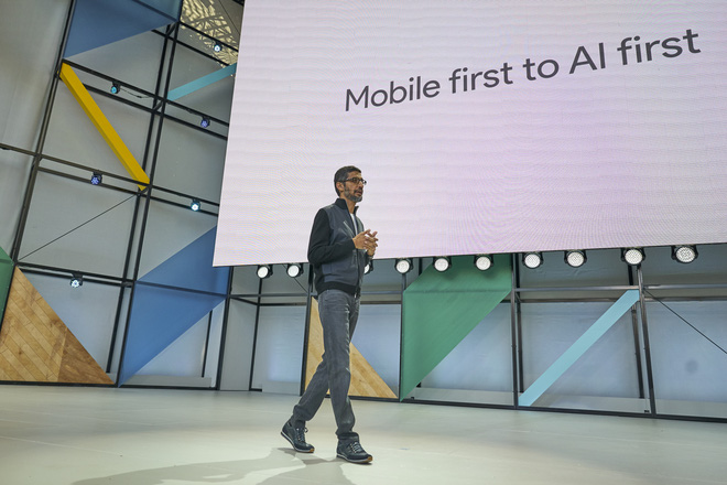 """""""Mobile first to AI first""""."""