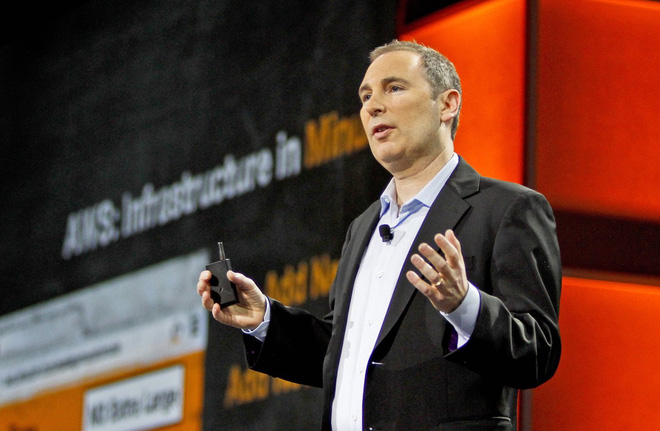 Andy Jassy, CEO của Amazon Web Services.